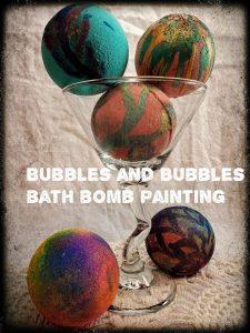 bath bomb painting class